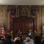 In conversation with historian George Sanchez at Breed Street Shul